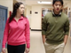 """Students in the short film, """"The Decision,"""" a part"""