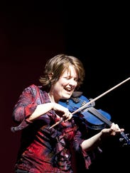 Irish fiddler Eileen Ivers performs Friday at the Flynn