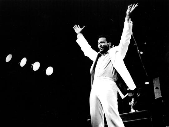 Motown star Marvin Gaye is featured in the new music