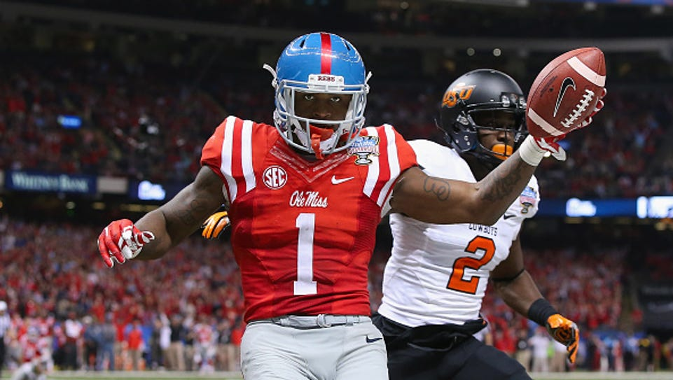 Former Ole Miss wide receiver Laquon Treadwell (1)