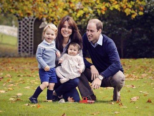 Kensington Palace Christmas Photo Prince George