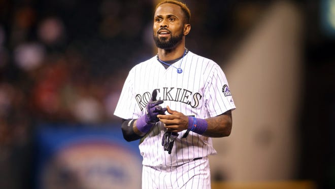 Jose Reyes faces an April 4 trial date on charges he abused his wife.