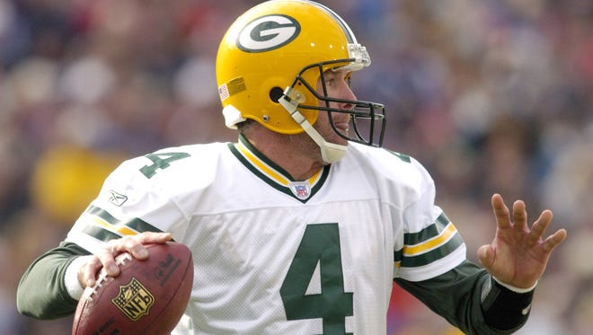 Former Southern MIssissippi and Green Bay Packers quarterback Brett Favre made No. 4 famous.