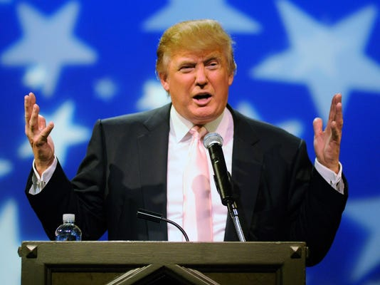 FILE: Donald Trump Announces He Is Not Running For President