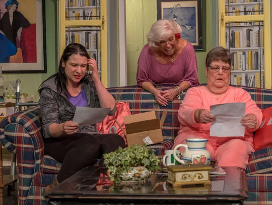 One of the hilarious scenes from the Visalia Players