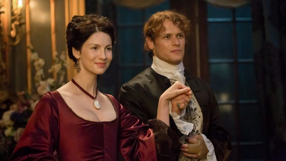 claire and jamie outlander dating