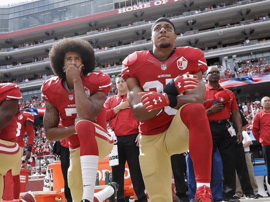 Anthem Protests Faith Football