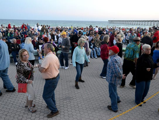 Pensacola Beach's popular outdoor summer concert series,