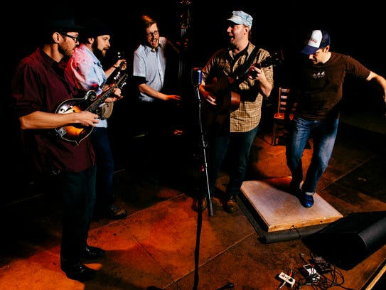 Pert Near Sandstone will perform a free concert at