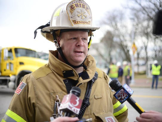 Winooski Fire Department Asst. Chief Mike Antoniak