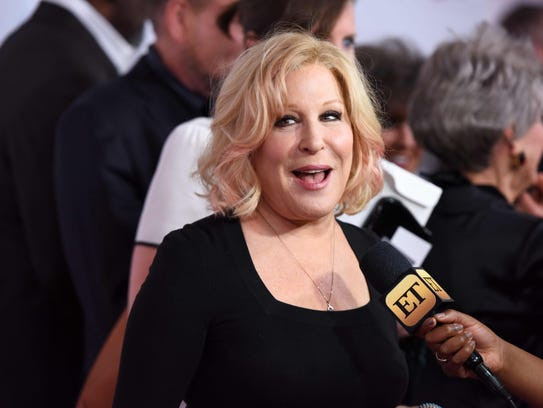 Bette Midler, here in February in Beverly Hills, is