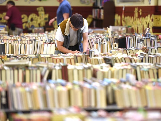 The College Club Book Fair will be next week at Somerville School.