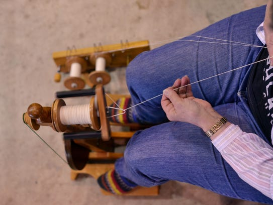Check out demonstrations from the WNC Fibers/Handweavers