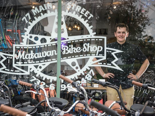 Reed Chojnacki, owner of the Matawan Bike Shop.