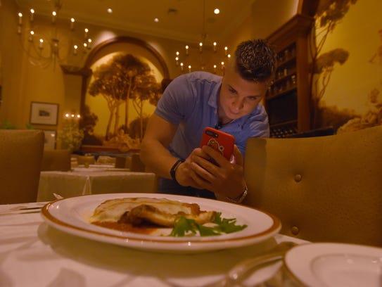 John Janeczko, foodie instagrammer