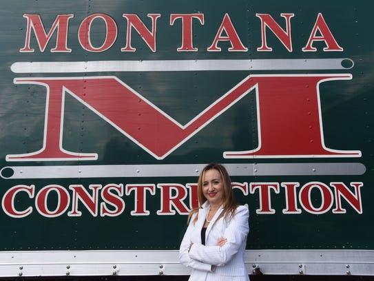 Lisa Santaite Ballerini, president of Montana Construction,