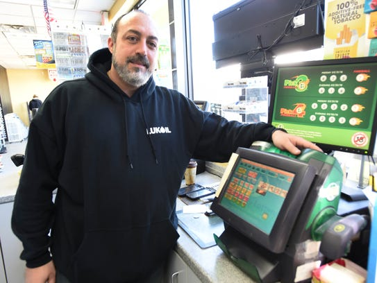 Station manager Nash Riad, who was contacted by lottery