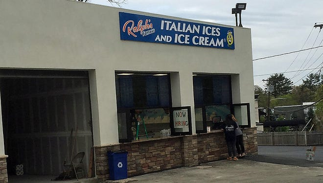 Ralph's Italian Ices and Ice Cream in Mamaroneck, scheduled to open April 29, 2016.
