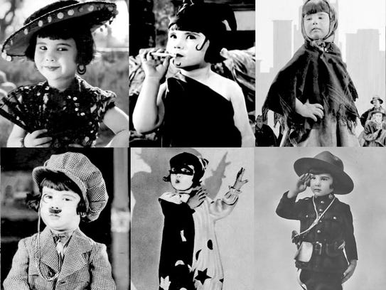 The many roles of Baby Peggy in the 1920s.