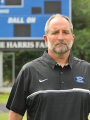 Erath Head Coach David Comeaux has a career record