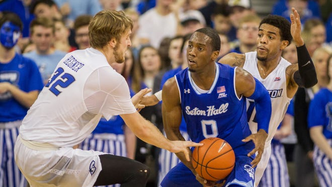 Creighton will be ranked for Wednesday's game at Seton Hall.