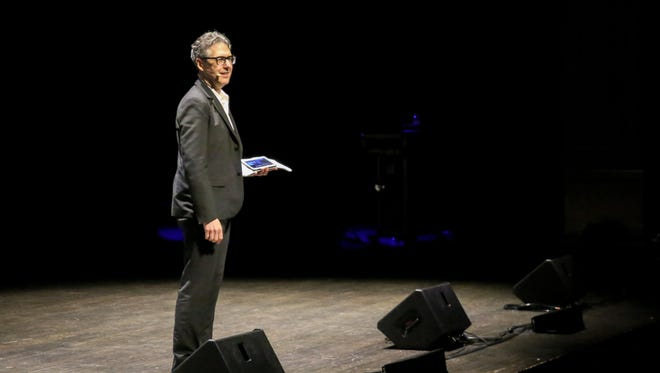 Radio personality and host of the show This American Life, Ira Glass, spoke at Ruby Diamond Concert Hall about seven things he's learned as part of Opening Nights Performing Arts at FSU.(2/10)