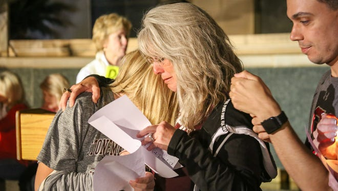 On Feb, 27, family, friends and loved ones of the Marjory Stoneman Douglas shooting victims were present at a candlelight vigil.