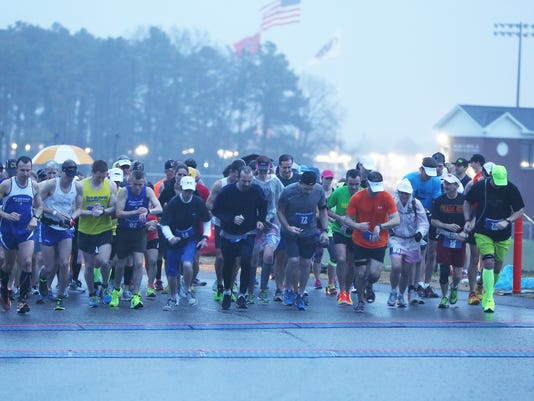 1 The Andrew Jackson Marathon took place Sat am at Union University in a wet.JPG