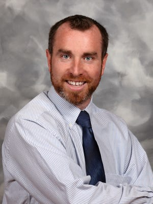 Patrick Farley, a fifth-grade teacher at Crystal Lake Elementary, was named as Martin County School District teacher of the year.