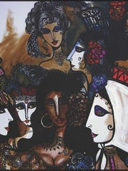 "This poster entitled ""Heroines of the Zarzuela"" by Hector Cata will be sold during the Art Show at ""Viva La Zarzuela,"" with 50 percent of the proceeds being donated to Vero Beach Opera."