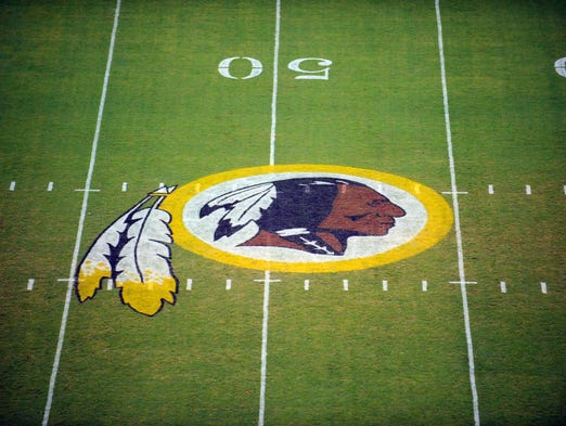 The Washington Redskins' team name is considered derogatory by some Native Americans.