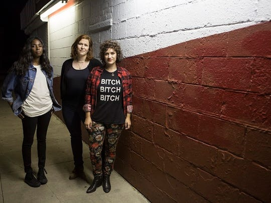 Casual Sweetheart will perform at this year's BFF Fest. From left: Dina Bankole, Erin Norris and Lauren Rossi.