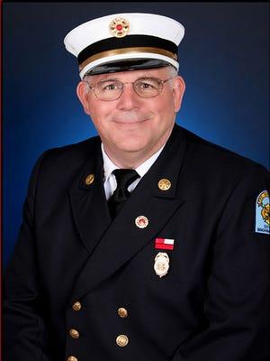 Binghamton Fire Chief Daniel Thomas