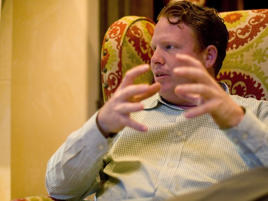 Jeremy Johnson talks about a relief mission to Haiti in this 2010 file photo.