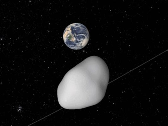 Asteroid to zoom 'damn close' to Earth on Thursday