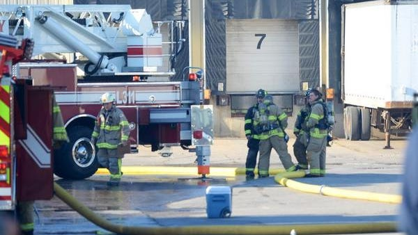 Firefighters were called out Friday morning to a warehouse fire at WSI Inc., 821 Parkview Road in Ashwaubenon.