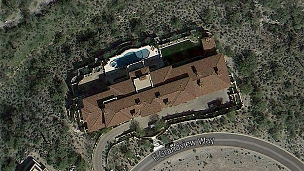 A $7 million home on Grandview Way in DC Ranch, Scottsdale.