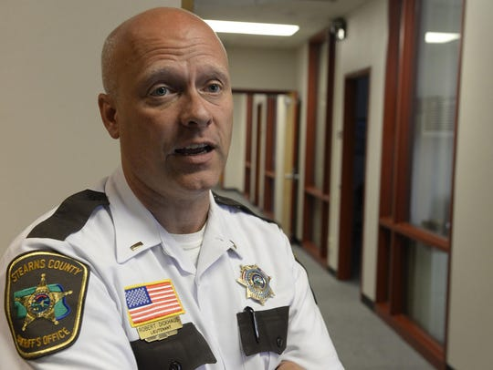 Stearns County Sheriff's Office Lt. Robert Dickhaus