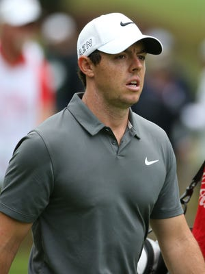 Rory McIlroy says he is still working himself back into top form after an ankle injury in July.