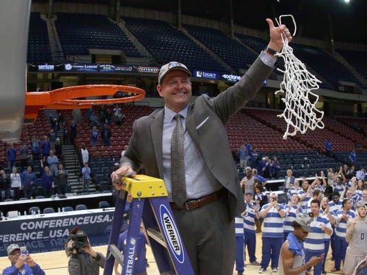 NCAA Basketball: Conference USA Tournament- Marshall vs MIddle Tennessee State