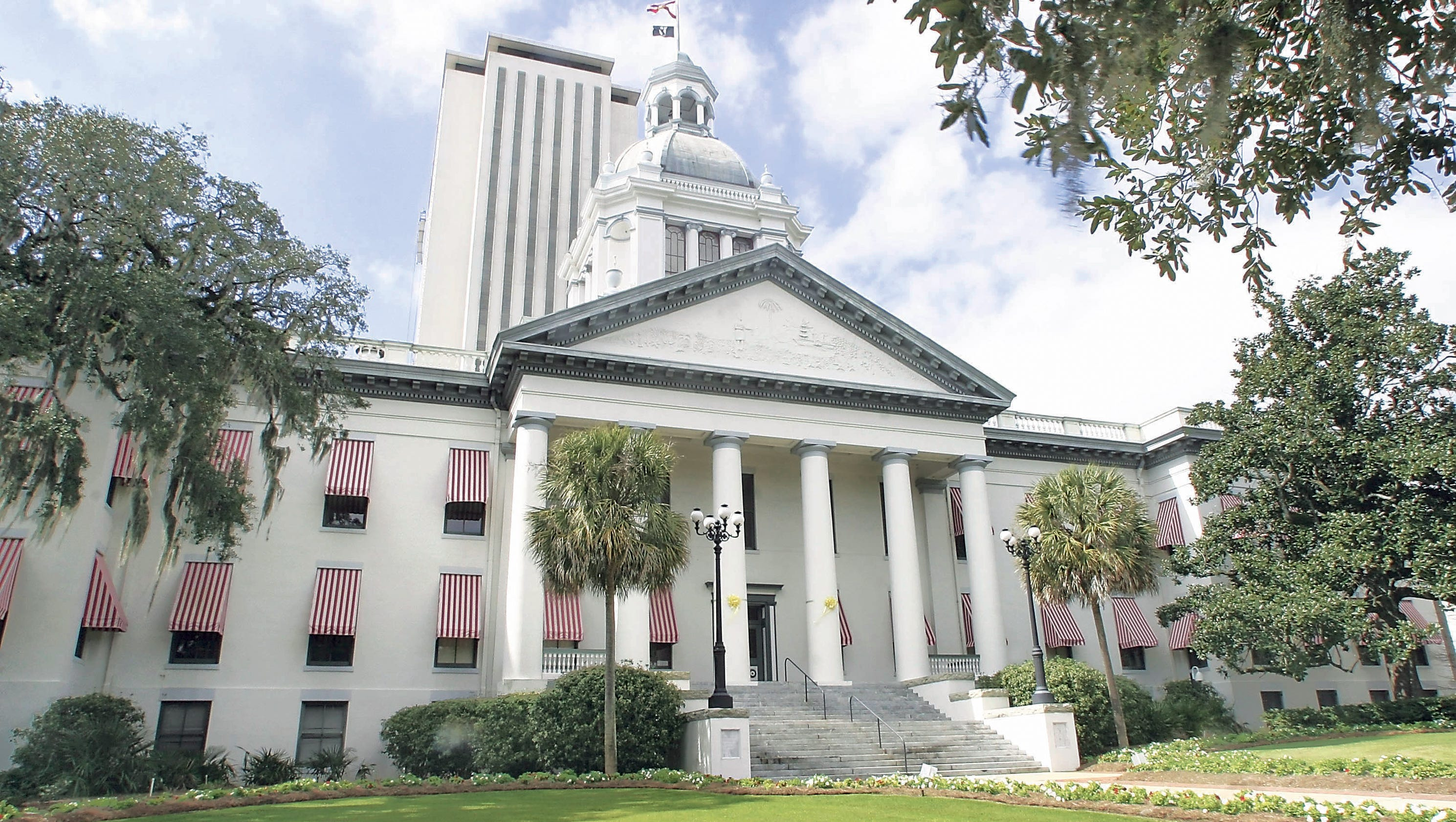 awning capitols the two capital tallahassee a capitol news awnings timeline florida story