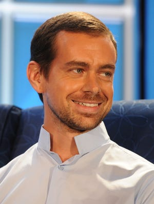 Jack Dorsey, founder of Twitter and Square.