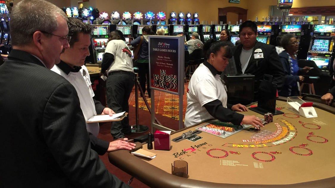 Sandersville casino bok homa