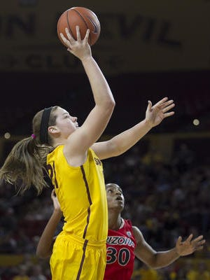 Sophie Brunner's all-around play helped No. 11 ASU women's basketball to a 58-48 win at Utah on Sunday.