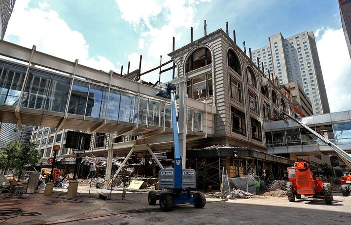 100 photos: Des Moines Younkers building from flagship to fire