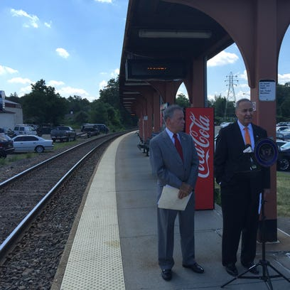 U.S. Sen. Charles Schumer, right, and Rockland County