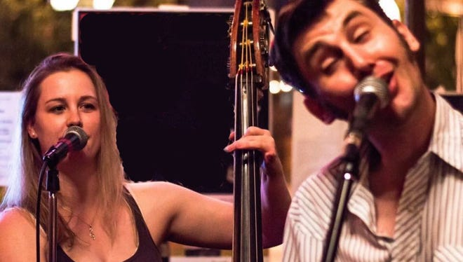 Betsey Beymer and Chad Graves, aka the Breakfast Sides, are performers in Duet Jubilee Deluxe.