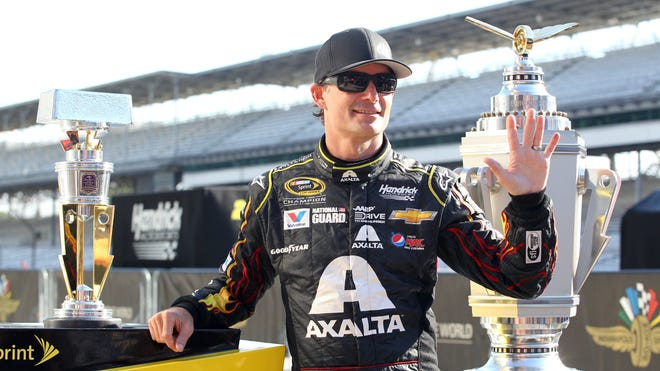 """Jeff Gordon has sponsorships from Axalta, Pepsi and the AARP Foundation's """"Drive to End Hunger"""" this season."""