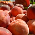 """Hari Cameron said his peach sorbet recipe has """"been a hit this summer."""" He can't seem to make it fast enough."""