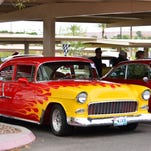 A classic car is displayed at last year's Rod Run.